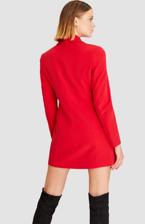 Блейзер-платье Страдивариус
