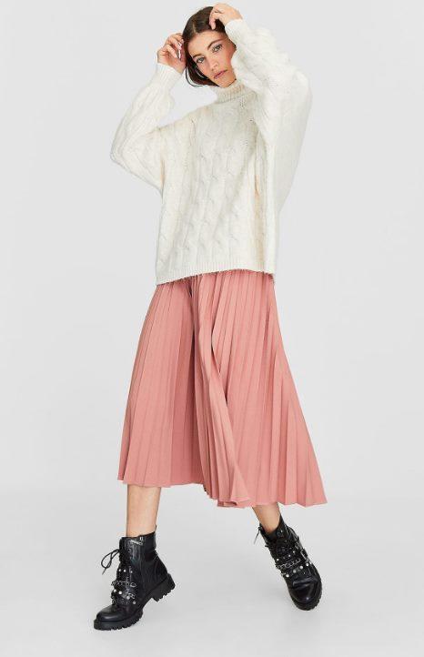 Плиссированная юбка Страдивариус